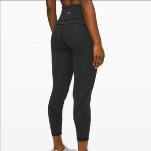 "Lululemon In Movement 7/8 Tight *Everlux 25"" sz 4"